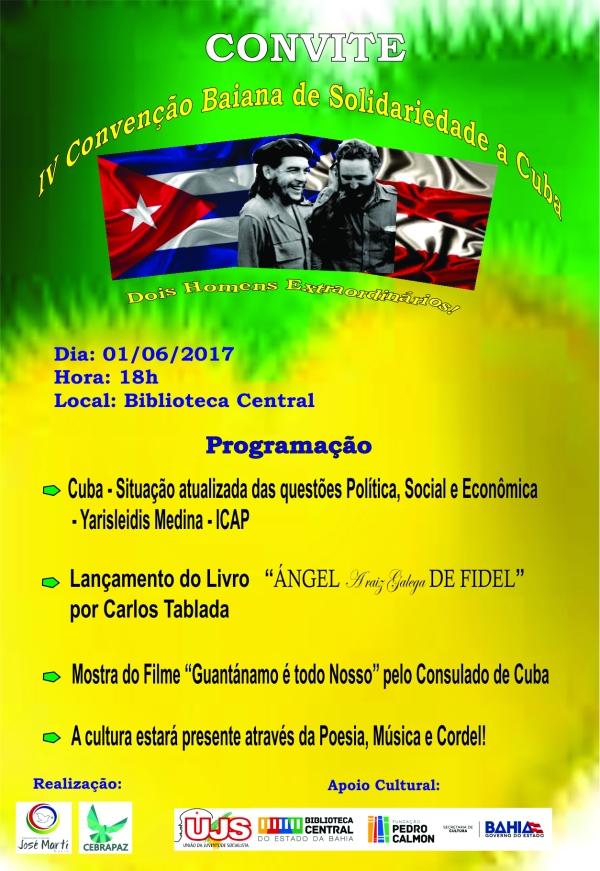 convenção cuba bahia 2017