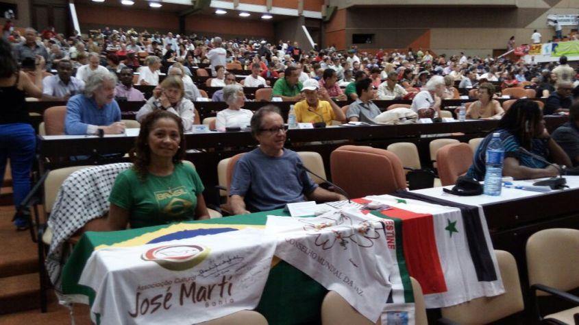 Maria Ivone e Antônio Barreto em Cuba