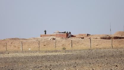 Muro marroquino no Saara Ocidental