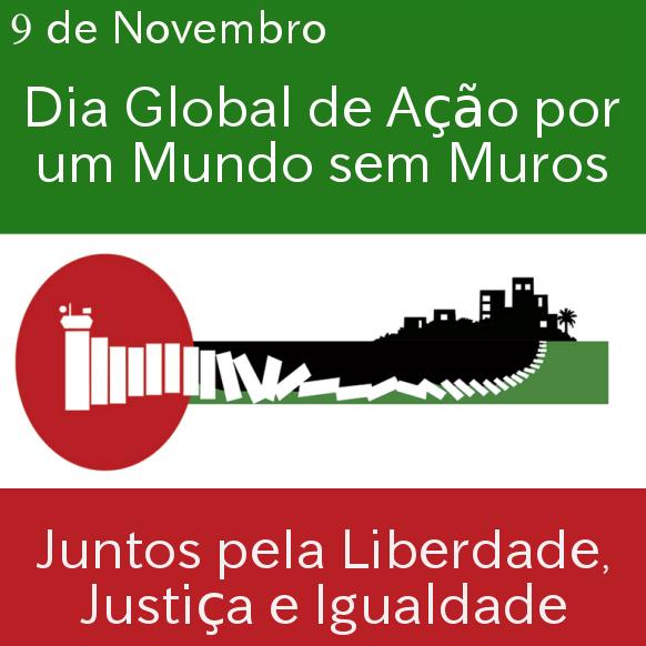 Dia Global de Ação por um Mundo sem Muros - Stop the Wall