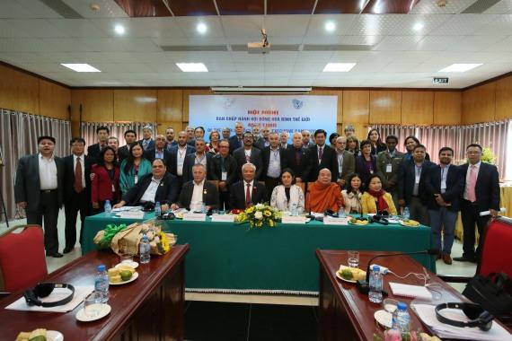 Comitê Executivo do Conselho Mundial da Paz em Hanói - Nov.2017