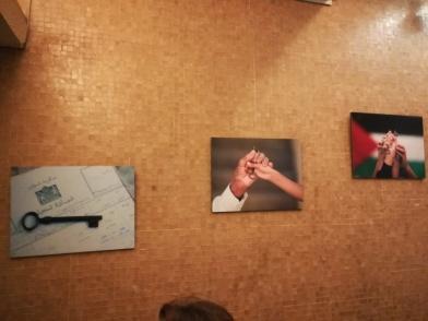 Exibição da associação Al-Jana, em Beirute.