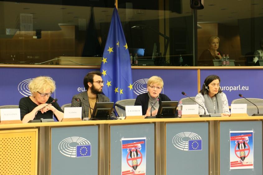 Debate no Parlamento Europeu - Tratado sobre Proibição das Armas Nucleares - Jan2018 1