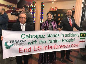 Irã - Barreto - Valéria - Tenório - Aniversário da Revolução 2018