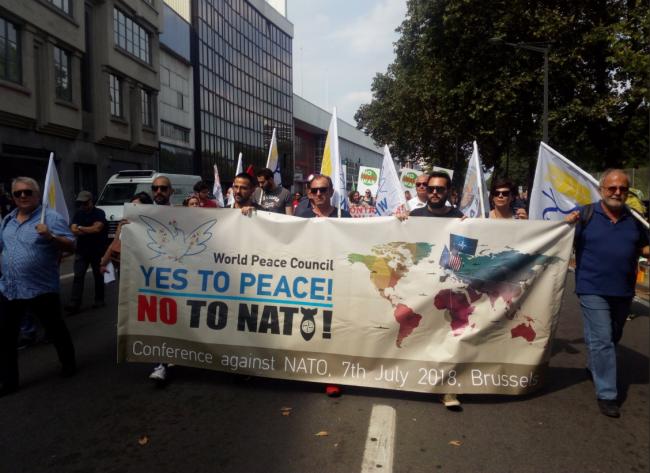 CMP contra OTAN - Bruxelas 2018