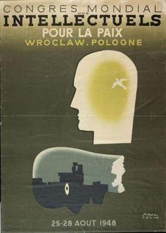 Congresso Mundial de Intelectuais em Defesa da Paz 1948 - Poster