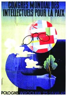 Congresso Mundial de Intelectuais em Defesa da Paz1948 - Poster