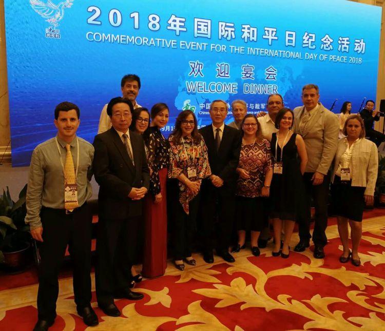 delegação na China