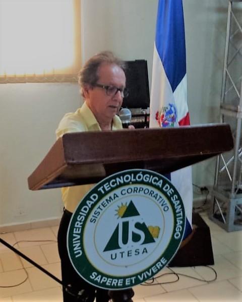 Presidente do Cebrapaz Antônio Barreto na reunião regional do CMP em Moca 2018