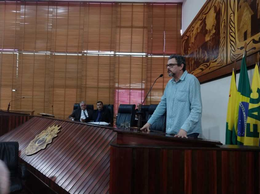 Cebrapaz - Acre sessão solene na Assembleia Legislativa pela Palestina