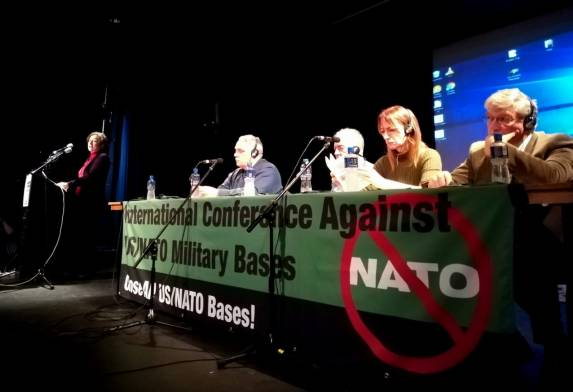 Socorro Gomes - Dublin Conferência contra Bases Militares EUA e OTAN