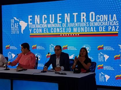 CMP e FMJD com Maduro Venezuela 2019 2