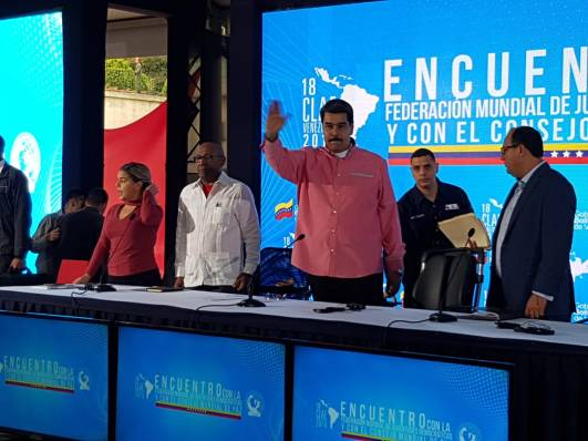 CMP e FMJD com Maduro Venezuela 2019 3