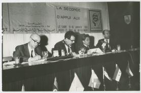 Reunião do CMP Região Oriente Médio - Cairo 1969