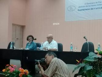Seminário Guantánamo 2019 - Socorro Gomes e Silvio Platero