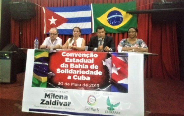 Convenção estadual de solidariedade a Cuba 2019 Bahia