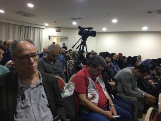Ato em São Paulo em apoio ao Irã 1