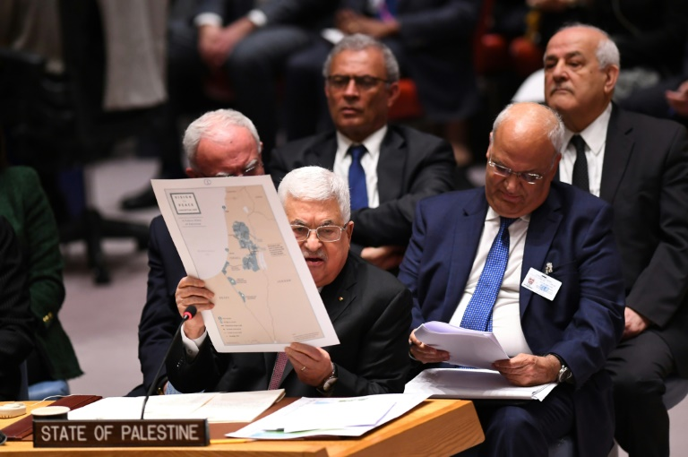 Palestina contra Plano Trump ONU